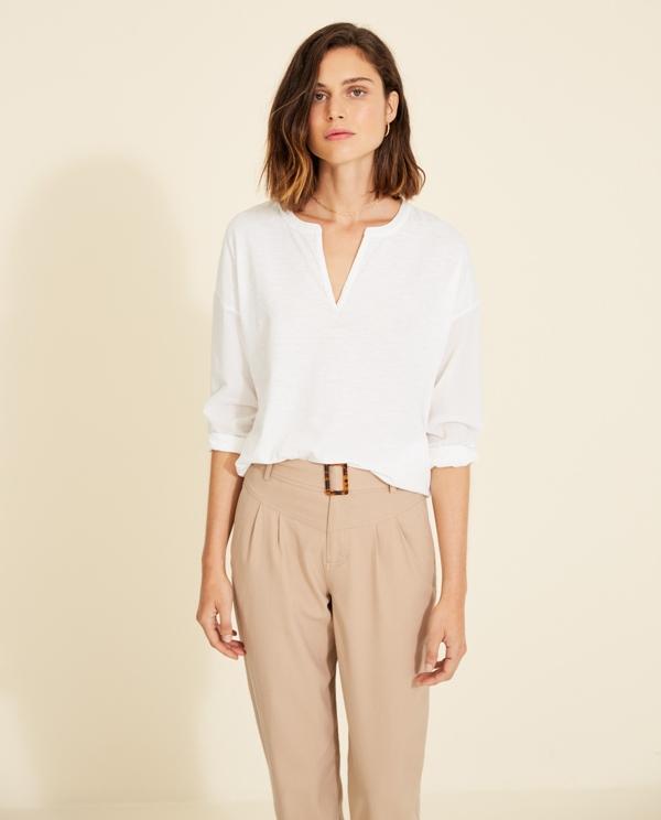 Shirt organic Cotton weiß