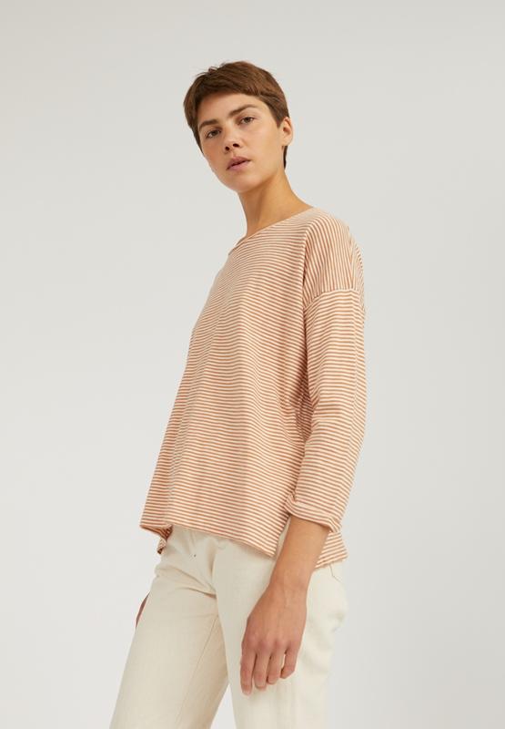 Siaa Shirt Bio-Baumwolle gestreift