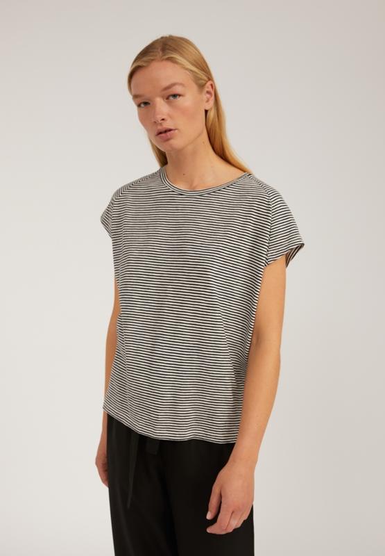 Ofeliaa T-Shirt Bio-Baumwolle gestreift