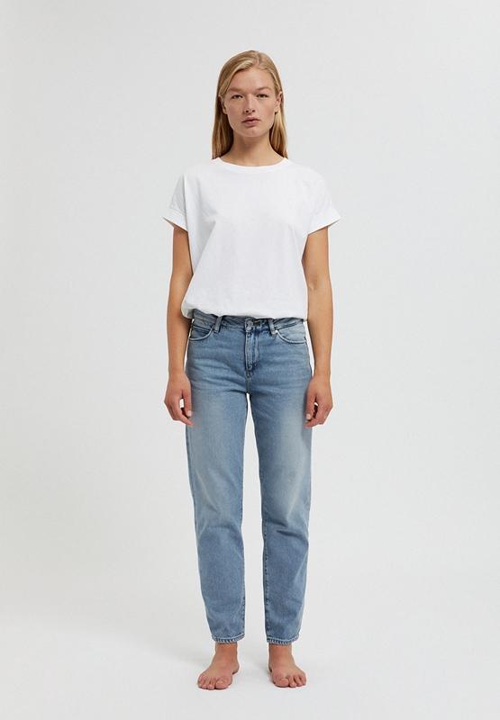 Fjella Jeans verkürzt Bio-Baumwolle