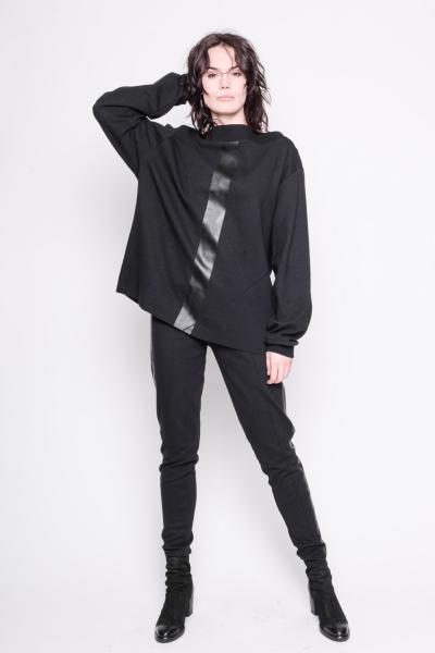 Sweater the otherside Baumwolle schwarz