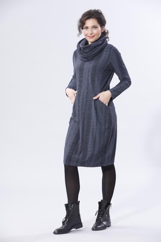 Kleid Jersey mit Struktur