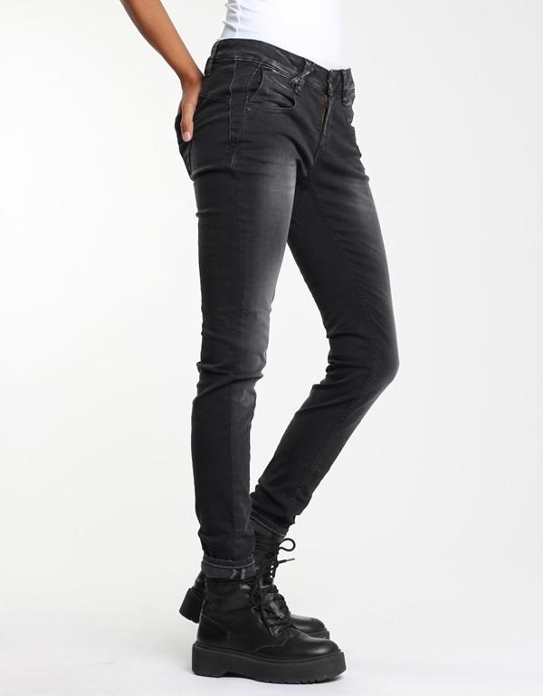 Nele Jeans skinny schwarzer Stretch