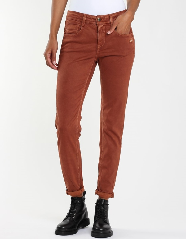 Amelie Hose relaxed brown bombay