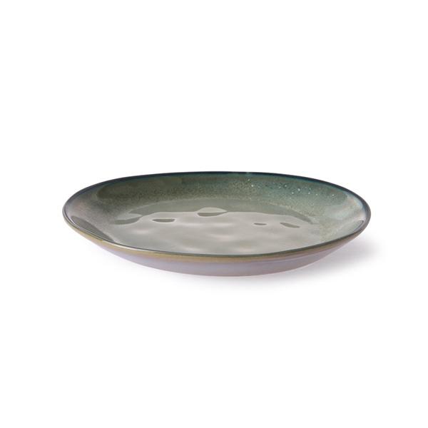 Side Plate Beilagenteller grey/green