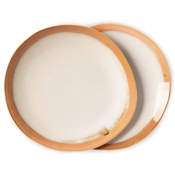 Dinner Plate Teller 2er Set earth