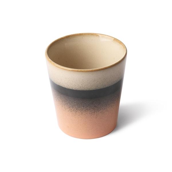 Kaffee Becher tornado 70s Keramik