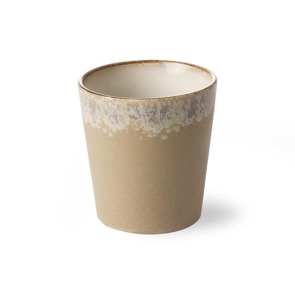 Kaffee Becher bark 70s Keramik
