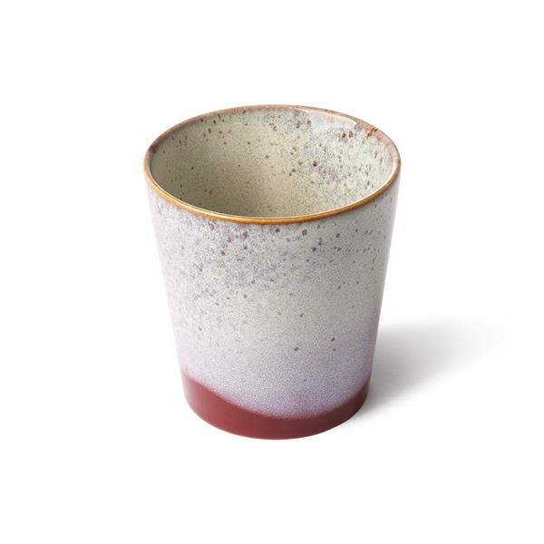 Kaffee Becher frost 70s Keramik