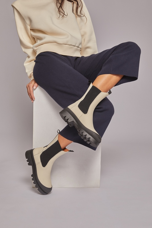 Rita Stiefel Chelsea Regen-Boots