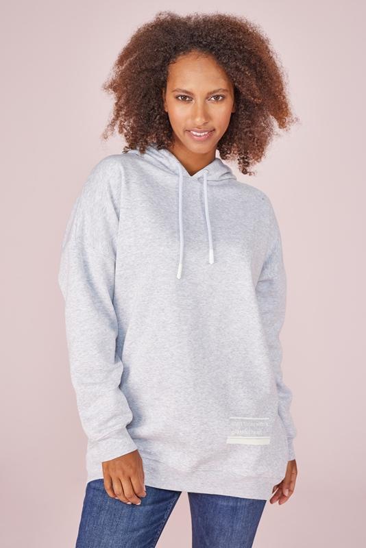 UrteL Sweater mit Kapuze extra lang
