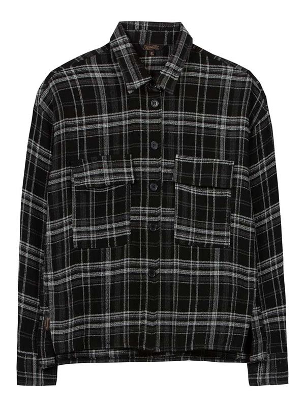 Lash Blusenhemd wool check