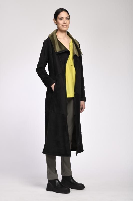 Mantel mit Reißverschluss
